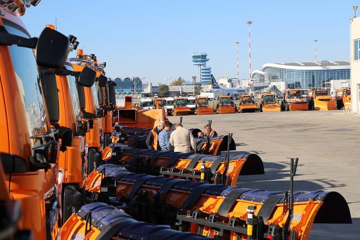 Aeroporturile din București – pregătite pentru iarnă