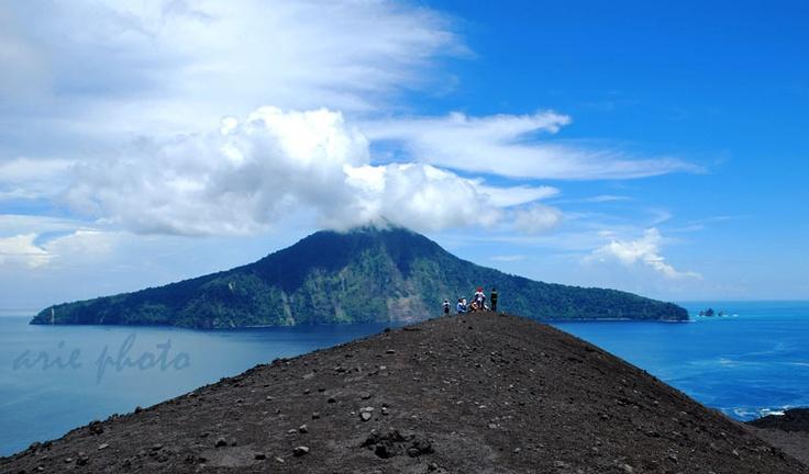 Krakatau Mountain, Indonesia
