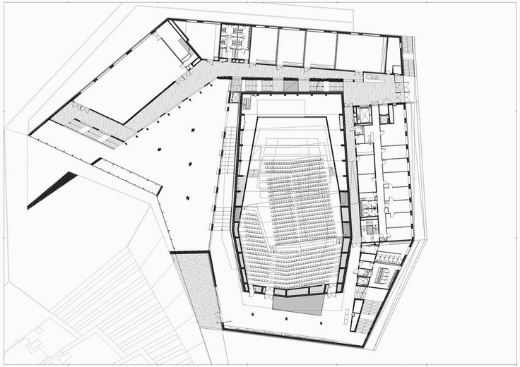 Kodály Centre,first floor plan