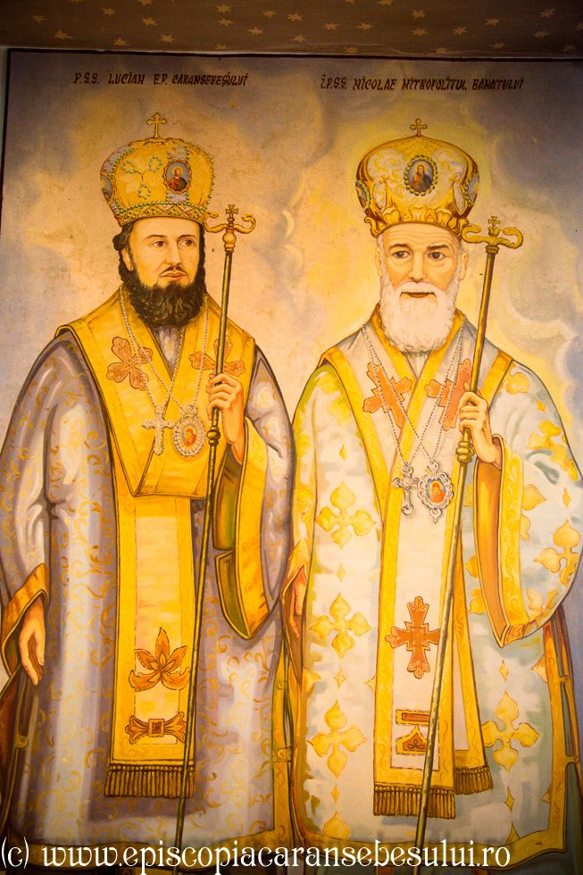 """Romanian Orthodox Church """"The Repose of the Holy Apostle and Evangelist John """" from Borlovenii Noi, Caraș-Severin County, Romania The Church was built in 1825. Romanian Orthodox Diocese of Caransebeș. Two hierarchs from Banat: Metropolit Nicolae Corneanu and Bishop Lucian Mic."""