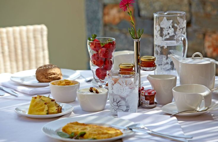 Breakfast at your room terrace is arguably an experience to remember from the Cove!   #daioscove #breakfast