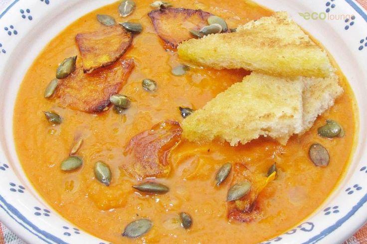 Sütőtök leves / Pumpkin soup Forrás/source: ecolounge.hu Szerző/creater: Hajdú István László
