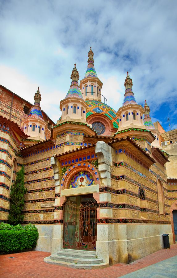 Parish Church of Sant Roma, Lloret de Mar, Gerona, Spain