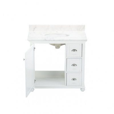 Home Decorators Collection Lamport 37 In Vanity In White