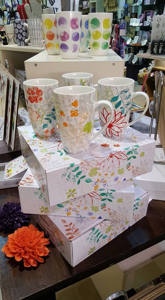 Great range of new mugs and Placemats arrived today!! #Maxwell & Williams #Mugs #New #Gift Ideas #Mother's Day