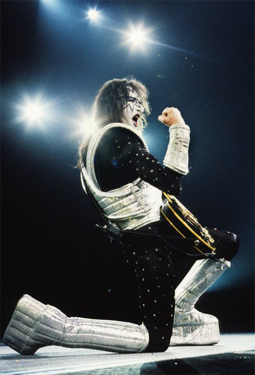 Ace Frehley - Love Gun Tour - 1977/78.  The reason I wanted to learn to play.