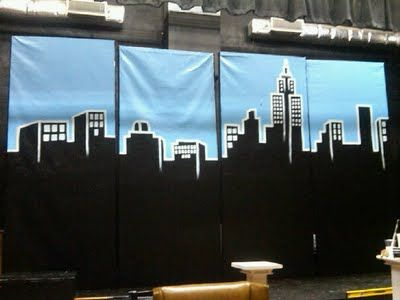 moment of stars dot net: Painting the Annie, Jr. Set