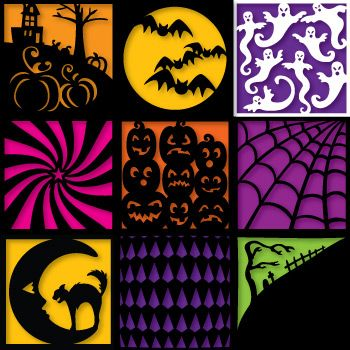 scary squares with scal and cricut not free though
