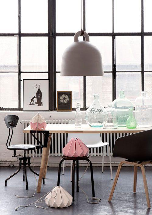 Cores Pastéis + Cinza + Madeira = Combinação Perfeita! | Casa-Atelier Blog & Shop