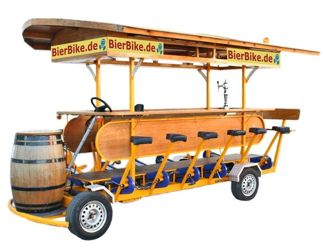 "The Beer Bike - Bar on Wheels - das Bierbike: ""The PartyBike for Fun with Friends"""
