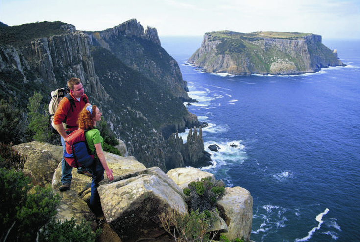5 GREAT WALKS IN TASMANIA THAT ARE BETTER THAN THE GYM. Getting your fit on in Tasmania can mean lacing up your hiking boots and striking out into the great outdoors. So forget the gym and hit one of these five Tassie Walks. Image credit: Joe Shemesh within an article by Ilona Kauremsky. #tasmania #discovertasmania #trekking #walking