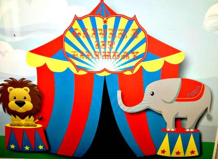 circus party decorations ideas