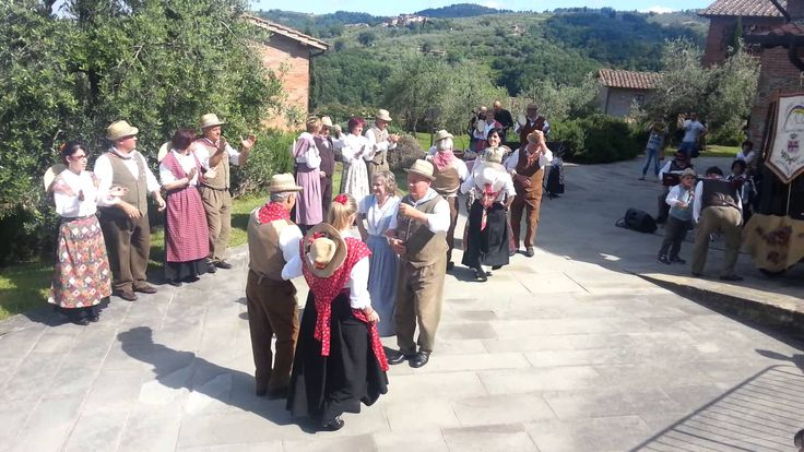 Italian Folk Dance. Watch the video and learn a step or two.