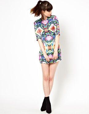 Image 4 ofSister Jane Dress in Digital Jewel Print