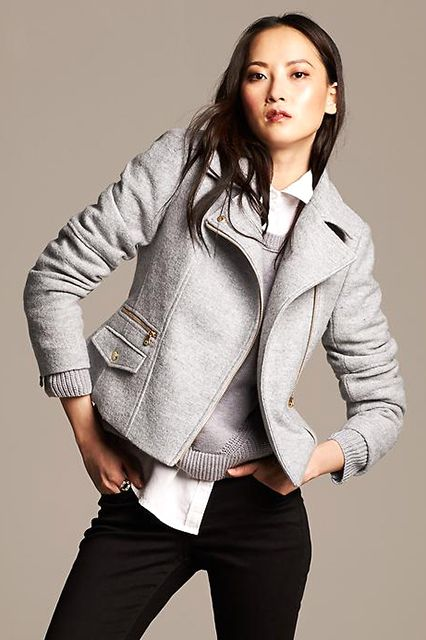 The Fall Jacket You've Been Dreaming Of #refinery29 http://www.refinery29.com/jackets-fall-trends#slide41 The Moto Jacket Want to feel like a total badass without trying? Toss on a moto jacket. Done.
