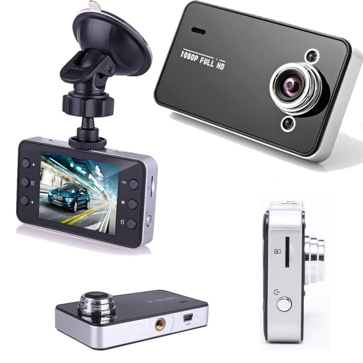 "2.4"" Car DVR LCD Full HD 720P English and Russian Vehicle Camera Video Recorder Dash Cam G-Sensor 32G Memory Card"