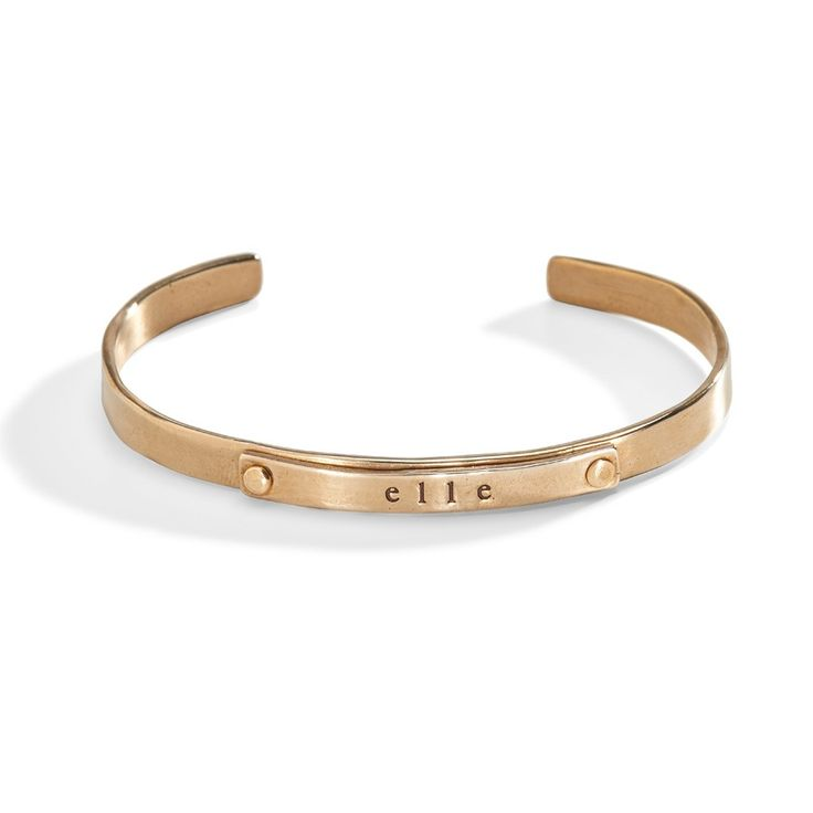 Jett Multi-Metal Riveted Cuff Bracelet - Bronze on Bronze