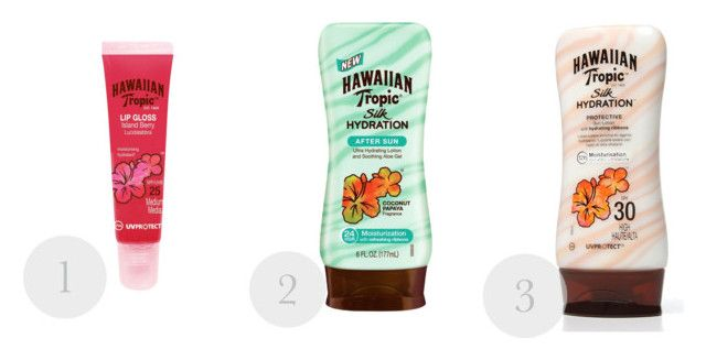 SUMMER PROTECTION by iffmann on Polyvore featuring beauty and Hawaiian Tropic
