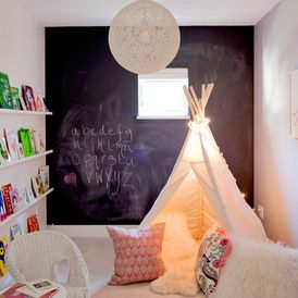 reading nook... Eclectic Kids by The Cross Interior Design