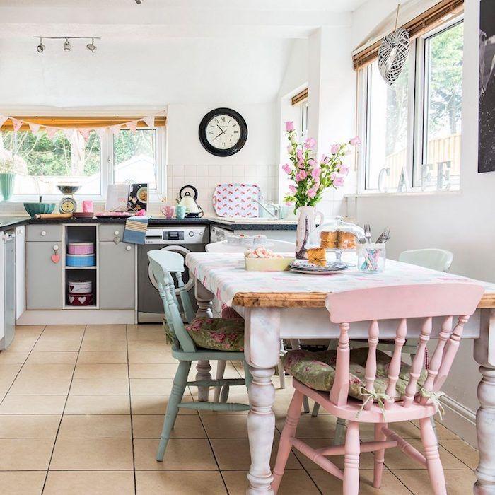 Best 25 facade cuisine ideas on pinterest facade - Cuisine blanche et bois ...