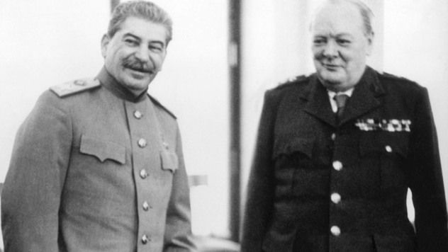 After Germany's defeat, Europe was now divided between the Allies in the west and the Soviets in the east. Winston Churchill did not trust Stalin to liberate the countries his forces occupied, and so he and his military planners prepared Operation Unthinkable, which would have pitted the Allied forces against Soviet troops across Europe. Hostilities would begin on July 1, 1945 and involve re-arming 100,000 German soldiers to join the Allies.