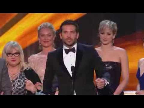 20th SAG Awards Acceptance Speech | American Hustle, Cast In A Motion Picture