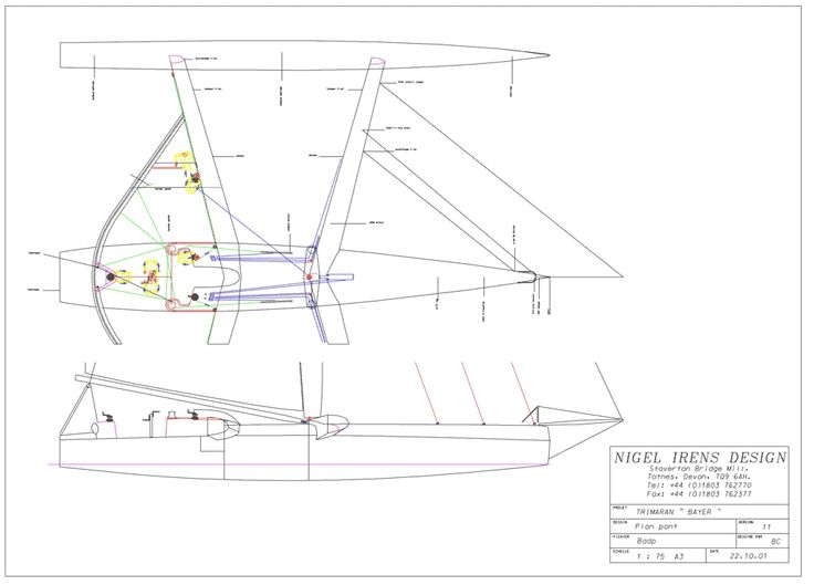 Sailing Trimaran Plans http://members.chello.nl/~t.iwema