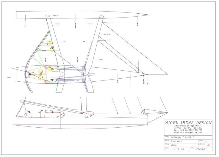 sailing trimaran plans      members chello nl