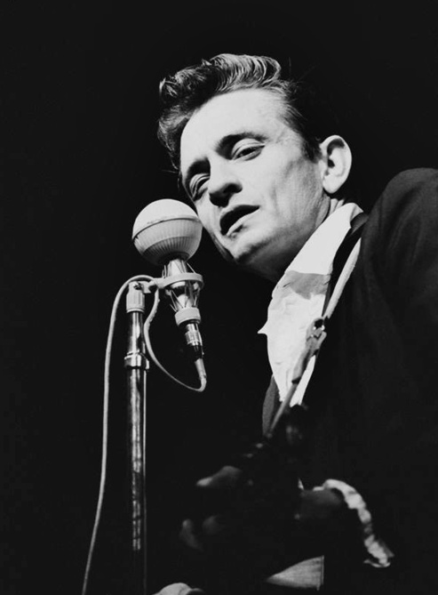 Johnny Cash by Jim Marshall (1964)