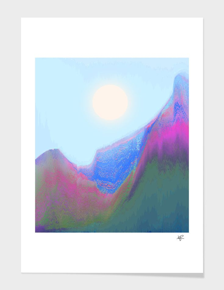 «Bright Sun», Numbered Edition Fine Art Print by Okti W. - From $20 - Curioos