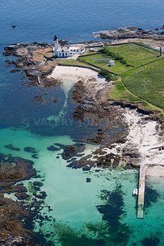 L'île aux moutons près des Glénan   Finistère   Bretagne   #iles
