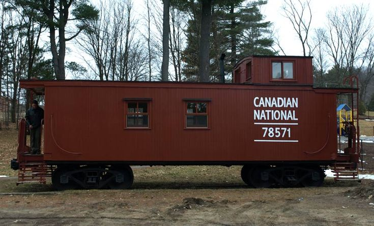 Bancroft, Ontario is the home to this Canadian National wooden caboose. Photo by Greg Shinnie
