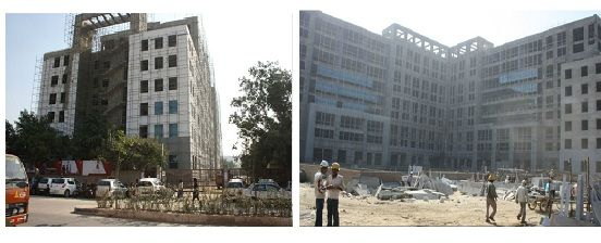 Construction update for DLF Prime Towers
