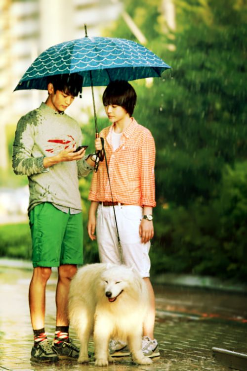 Minho and Sulli, To The Beautiful You. watching this drama again,AH! MY FAVOURITE DRAMA,I hope they will make TTBY 2 ,I miss drama a lot :')