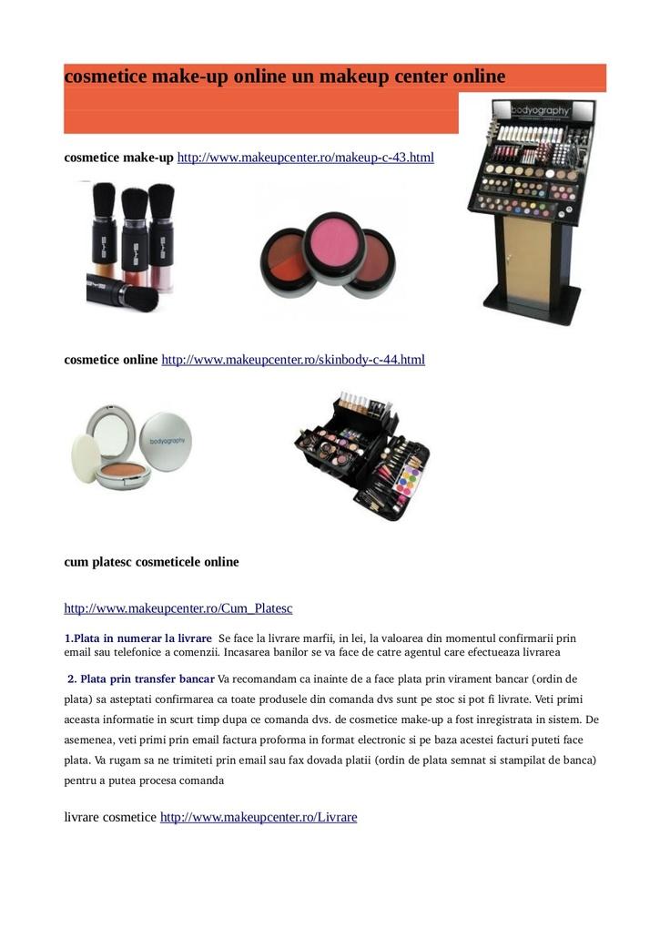 cosmetice-online by Cosmina Mache