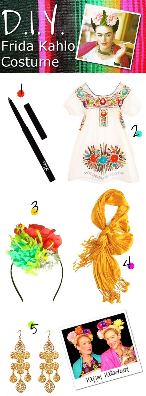 Les 25 meilleures id es de la cat gorie costume mexicain sur pinterest costume catrina groupe - Deguisement frida kahlo ...