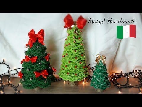 Pallina di Natale all'uncinetto - YouTube