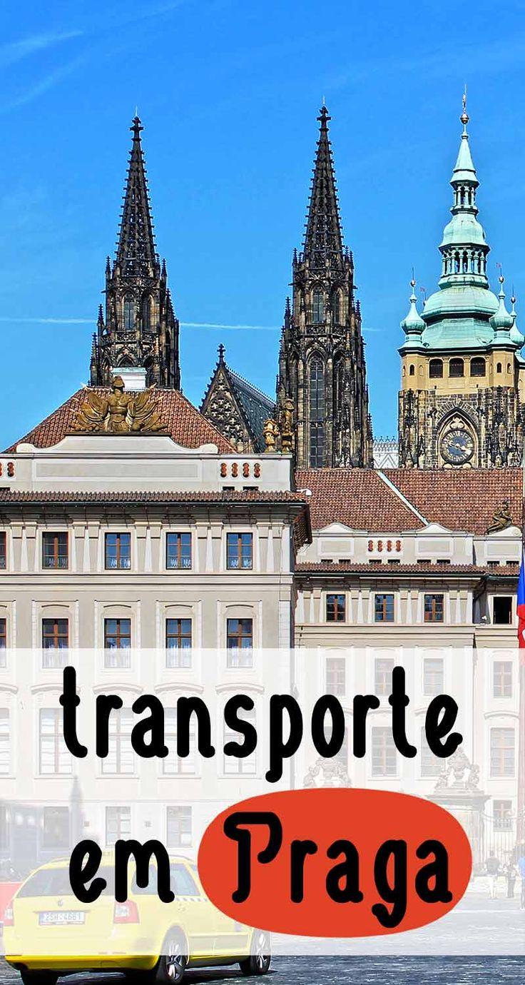 Saiba como se locomover com transporte público, táxis, tram e como ir e voltar do aeroporto em Praga e aproveitar ao máximo os mistérios dessa cidade.