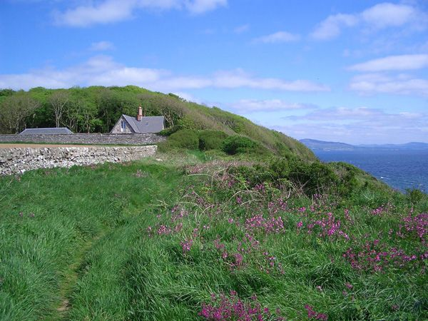 Dumfries and Galloway.  Clifftop holiday cottage with amazing sea views.  Sleeps 4.