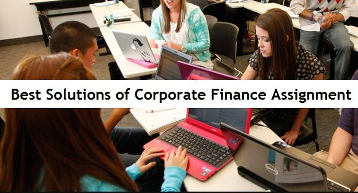 Here is How Students Can Be in Top With Best Solutions of Corporate Finance Assignment! http://ow.ly/ENOM30cTitb  #Corporate #AssignmentHelp