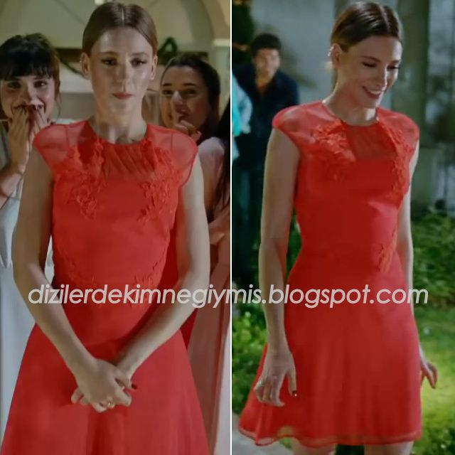 Medcezir - Mira (Serenay Sarıkaya), Red Dress