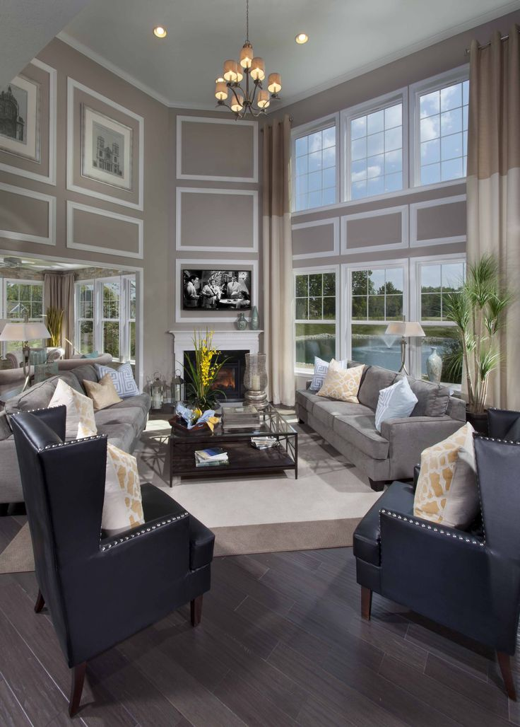 Decorating A Large Living Room Photo Decorating Inspiration