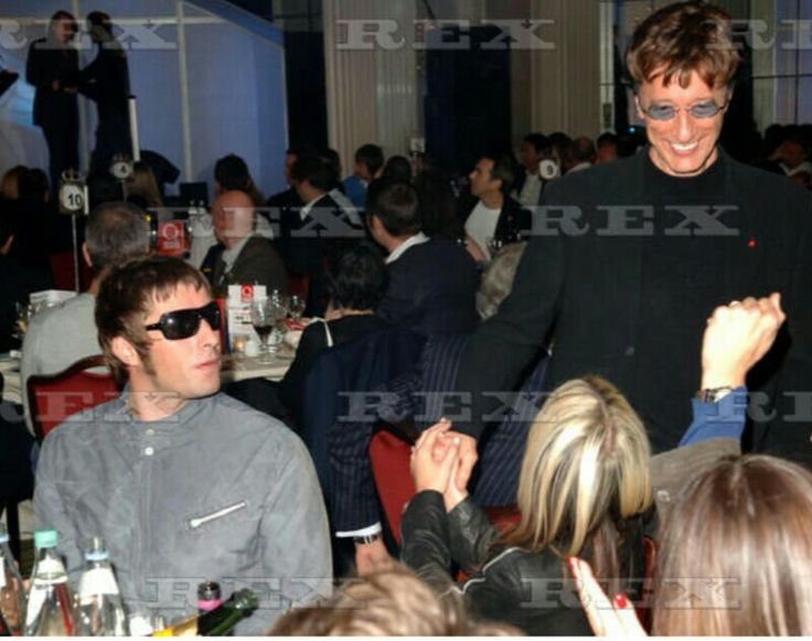 Robin Gibb - Liam Gallagher - Nicole Appleton 10.Okt. 2005/eo