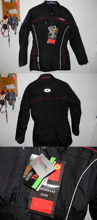 Other Snowmobiling 4847: Polaris Stylish Snowmobile Jacket - 2000 Model Nwt -> BUY IT NOW ONLY: $50 on eBay!