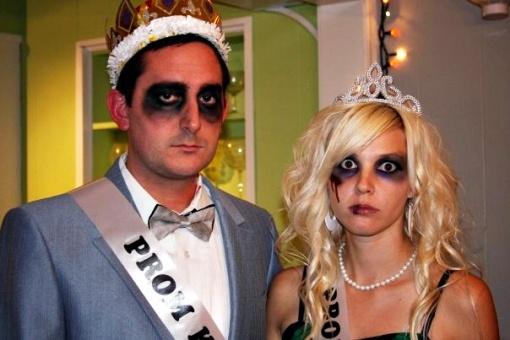 Zombie prom queen makeup