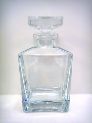 Vintage Scandinavian alcohol decanter