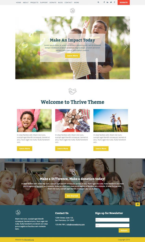 Thrive Theme - Morweb.org