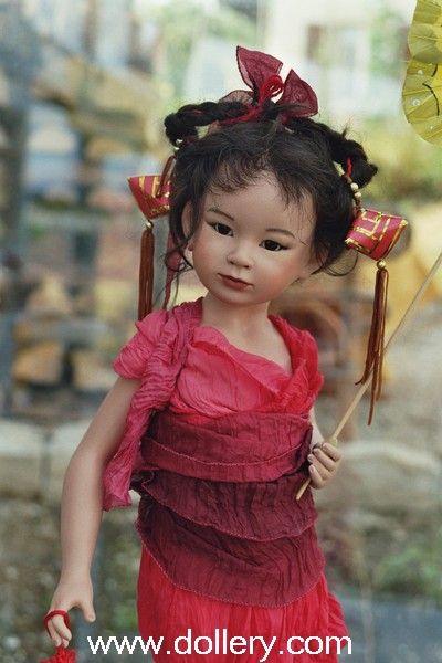 """Kaeda"" Dolls by Maja Bill $2,500.00 (sold in 2007)"