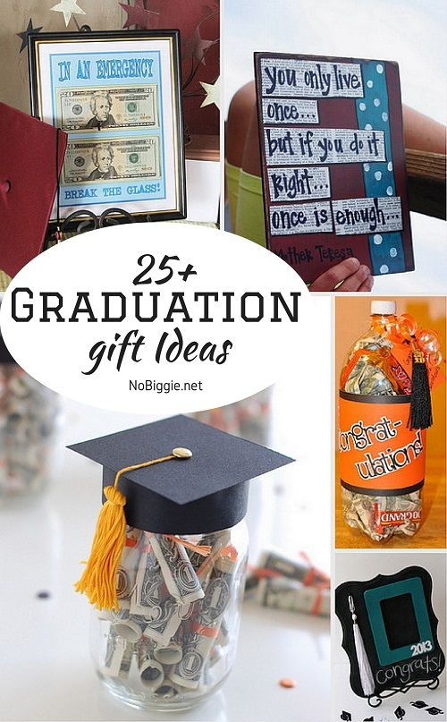 25+ Graduation gift Ideas - NoBiggie.net