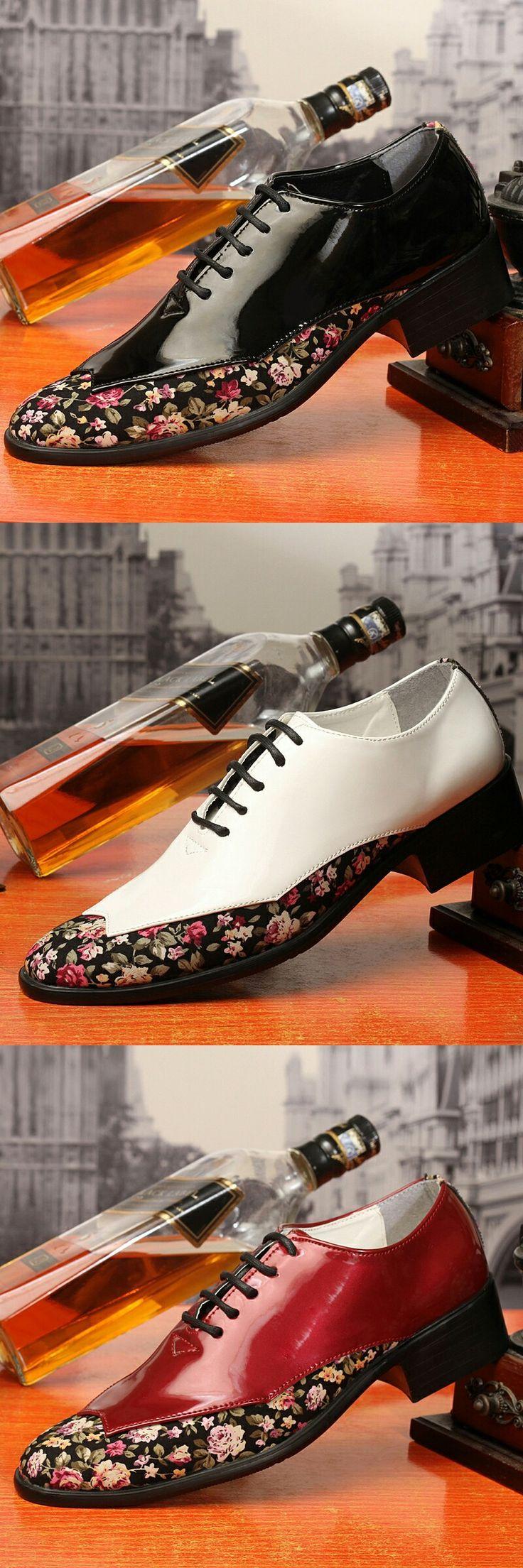 US $23.6 <Click to buy> Handsome Modern Gentlemen Formal Oxfords Wingtip Brogue
